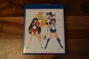 Sailor Moon Japanese Blu-Ray Vol. 1 - Inside back cover