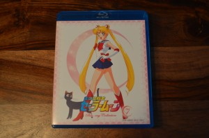 Sailor Moon Japanese Blu-Ray Vol. 1 - Inside cover