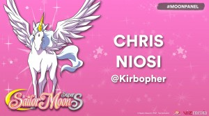 Chris Niosi as Pegasus in Sailor Moon SuperS