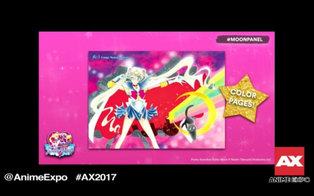 Sailor Moon Eternal Edition Manga - Colour Pages