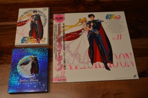 Sailor Moon Japanese Blu-Ray Collection Volume 2 - Back cover art comparison