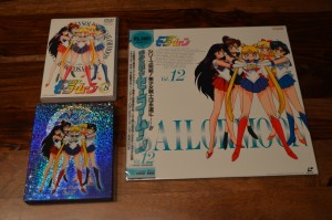 Sailor Moon Japanese Blu-Ray Collection Volume 2 - Cover art comparison