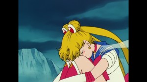 Sailor Moon Japanese Blu-Ray Collection Volume 2 - Episode 45 - Sailor Moon touched by Sailor Jupiter's ghost