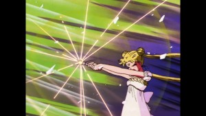 Sailor Moon Japanese Blu-Ray Collection Volume 2 - Episode 46 - Princess Serenity attacks Queen Beryl