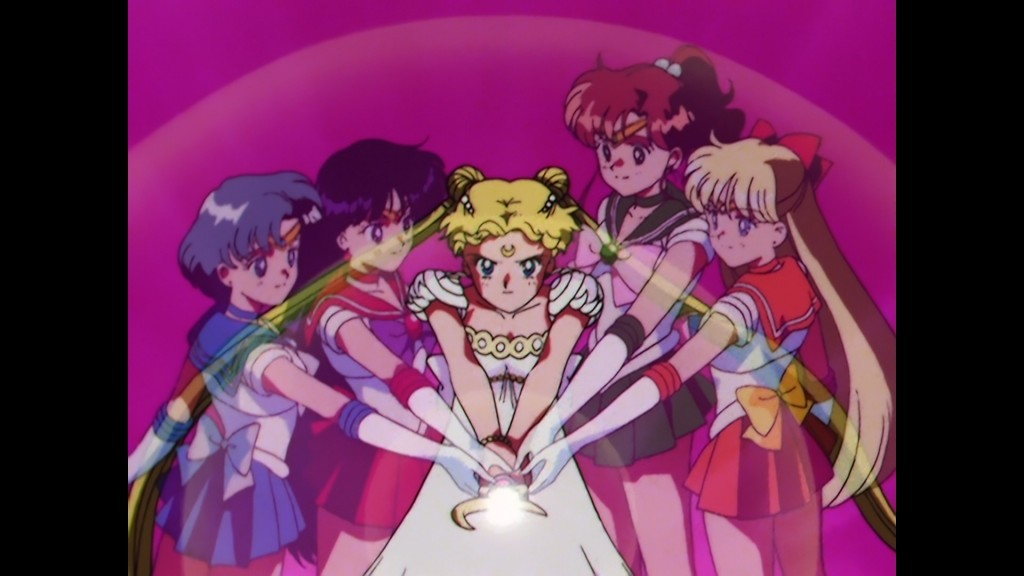 Sailor Moon Japanese Blu-Ray Collection Volume 2 - Episode 46 - The Sailor Guardians attack Queen Beryl