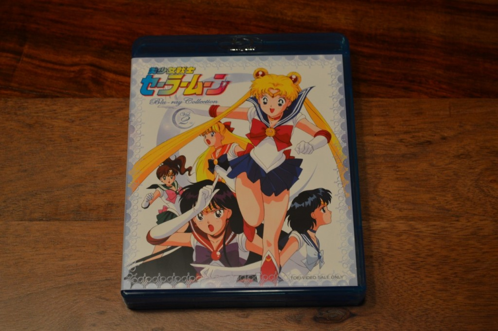Sailor Moon Japanese Blu-Ray Collection Volume 2 - Inside cover