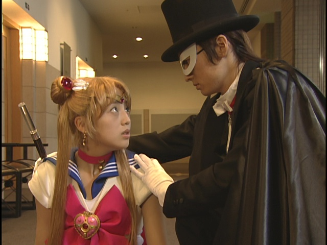 Live Action Pretty Guardian Sailor Moon - Act 1 - Sailor Moon and Tuxedo Mask