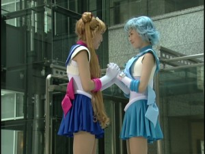 Live Action Pretty Guardian Sailor Moon Act 2 - Sailor Moon and Sailor Mercury