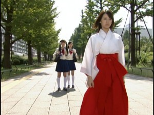 Live Action Pretty Guardian Sailor Moon Act 3 - Rei snubs Usagi and Ami