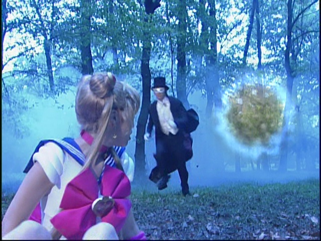 Live Action Pretty Guardian Sailor Moon Act 3 - Where did Tuxedo Mask come from?