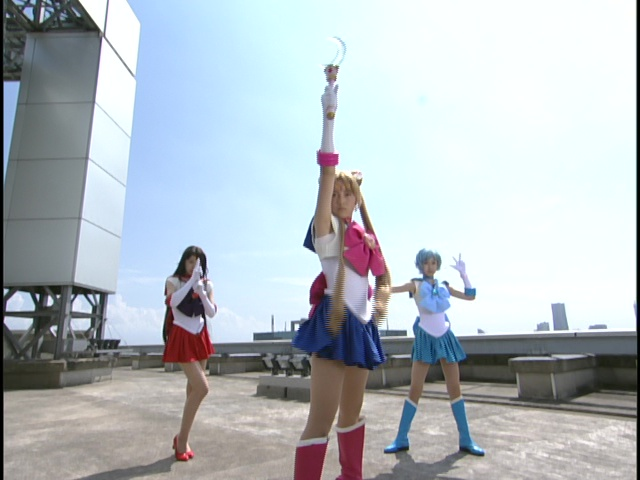 Live Action Pretty Guardian Sailor Moon Act 4 - Sailor Mars, Moon and Mercury