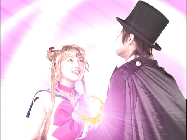Live Action Pretty Guardian Sailor Moon Act 4 - Sailor Moon and Tuxedo Mask