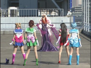 Live Action Pretty Guardian Sailor Moon Act 10 - Queen Beryl confronts the Sailor Guardians