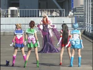 Live Action Pretty Guardian Sailor Moon Act 10 - Queen Beryl confronts the Sailor Guardians