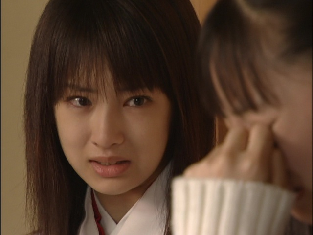 Live Action Pretty Guardian Sailor Moon Act 10 - Rei sad thinking about her mother