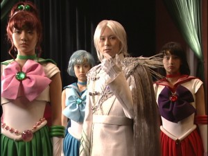 Live Action Pretty Guardian Sailor Moon Act 11 - Zoisite with brainwashed Sailor Guardians