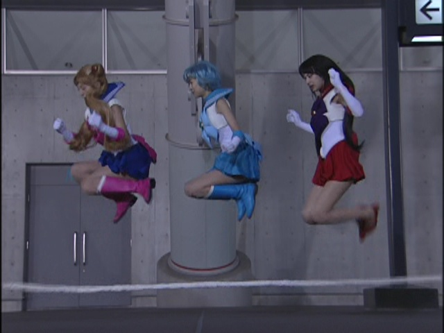 Live Action Pretty Guardian Sailor Moon Act 12 - A ridiculous jump rope scene