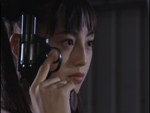 Live Action Pretty Guardian Sailor Moon Act 5 - Usagi with a gun