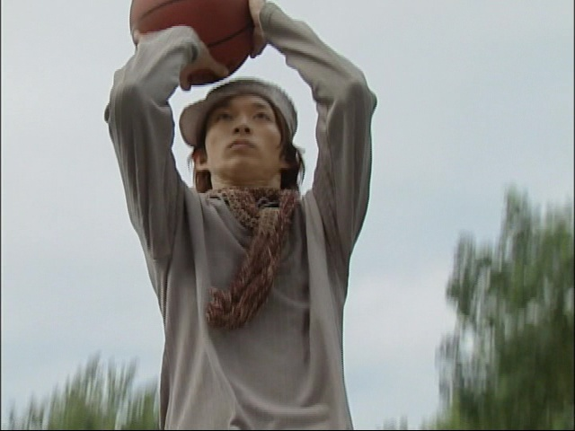 Live Action Pretty Guardian Sailor Moon Act 6 - Takeru is not properly dressed to play basketball