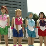 Live Action Pretty Guardian Sailor Moon Act 6 - Sailor Jupiter, Sailor Moon, Sailor Mercury and Sailor Mars