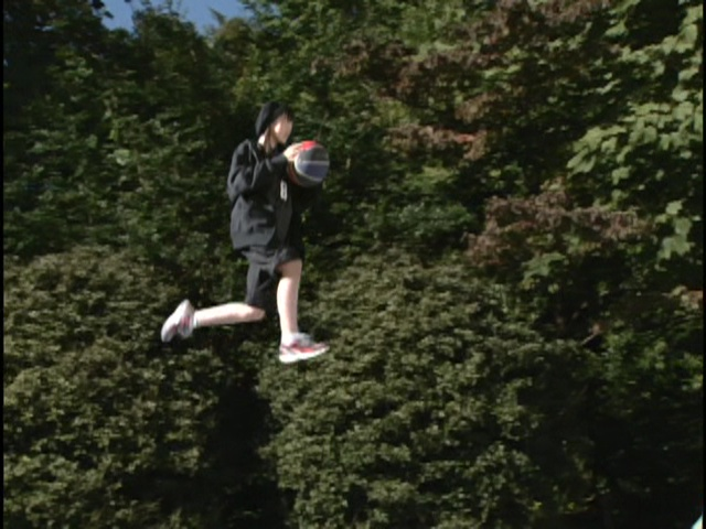 Live Action Pretty Guardian Sailor Moon Act 6 - Usagi essentially flying