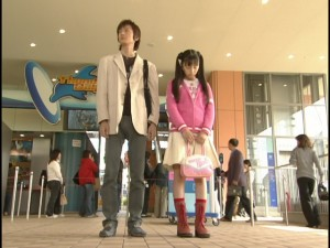 Live Action Pretty Guardian Sailor Moon Act 7 - Mamoru and Usagi