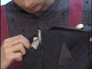 Live Action Pretty Guardian Sailor Moon Act 7 - Motoki with Tuxedo Mask's jacket