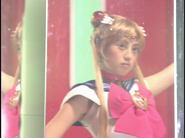 Live Action Pretty Guardian Sailor Moon Act 7 - Sailor Moon transforms