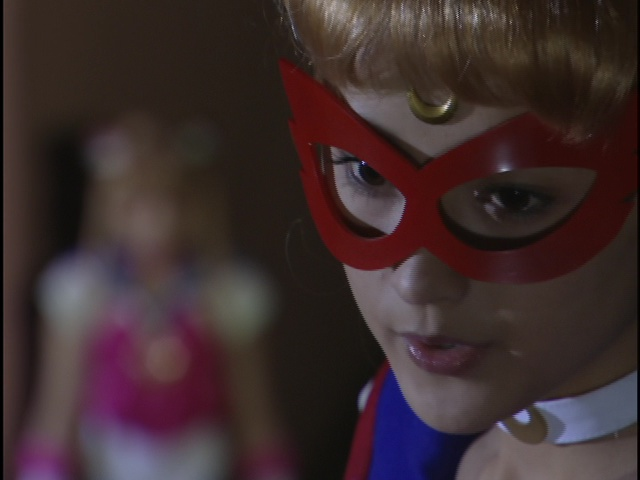 Live Action Pretty Guardian Sailor Moon Act 7 - Sailor V warns Sailor Moon against seeing Tuxedo Mask