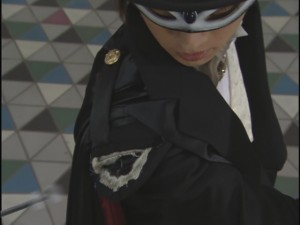 Live Action Pretty Guardian Sailor Moon Act 7 - Tuxedo Mask's jacket is ripped