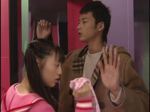 Live Action Pretty Guardian Sailor Moon Act 7 - Usagi and Motoki separate in a house of mirrors
