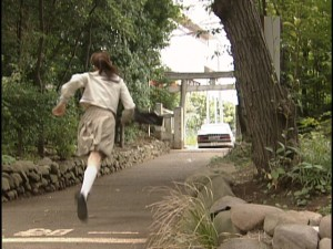 Live Action Pretty Guardian Sailor Moon Act 8 - Makoto chases a car on foot