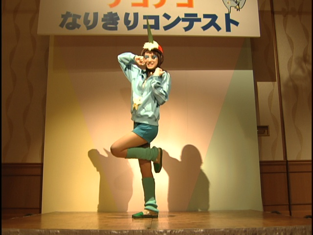 Live Action Pretty Guardian Sailor Moon Act 8 - Rei posing dressed as Nako Nako
