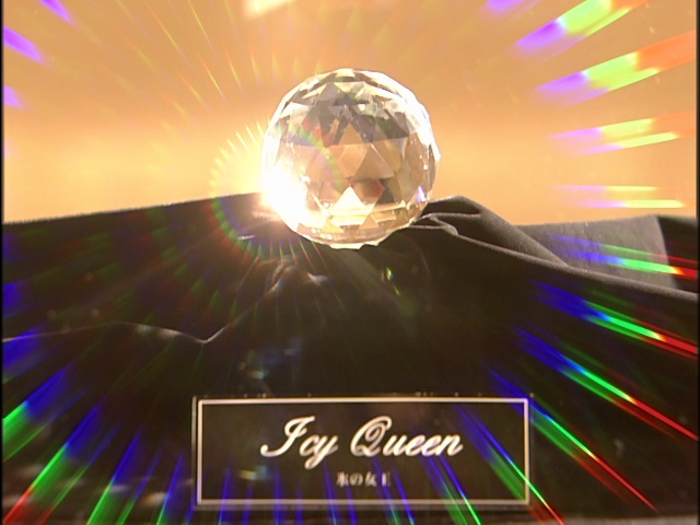 Live Action Pretty Guardian Sailor Moon Act 9 - The Icy Queen looks like the Silver Crystal from the Anime