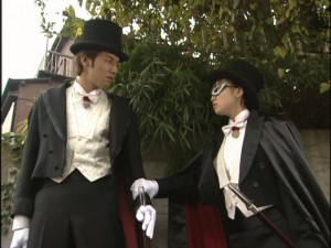 Live Action Pretty Guardian Sailor Moon Act 9 - Two people who aren't Tuxedo Mask