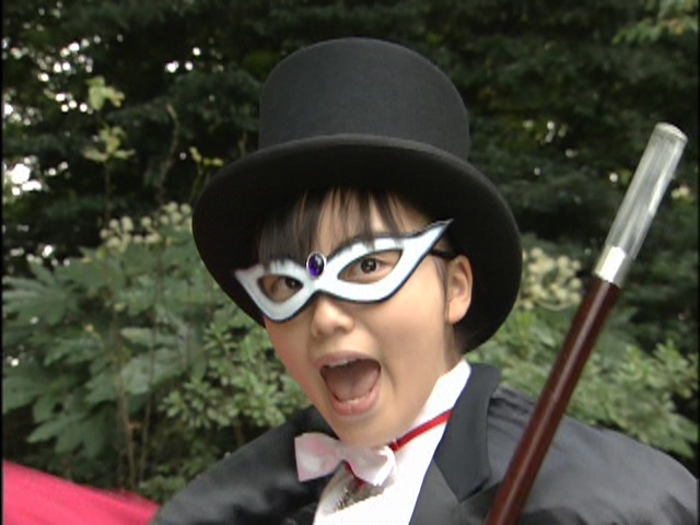 Live Action Pretty Guardian Sailor Moon Act 9 - Usagi as Tuxedo Mask