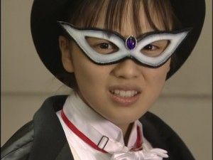 Live Action Pretty Guardian Sailor Moon Act 9 - Usagi dressed as Tuxedo Mask