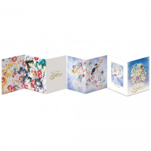 Sailor Moon Stamp set booklet