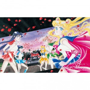Sailor Moon Stamp set - Premium postcard 3