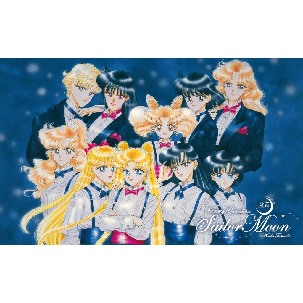 Sailor Moon Stamp set - Premium postcard 6