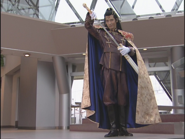 Live Action Pretty Guardian Sailor Moon Act 13 - Kunzite and his sword