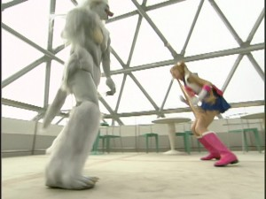 Live Action Pretty Guardian Sailor Moon Act 13 - Usagi fights the wolf monster