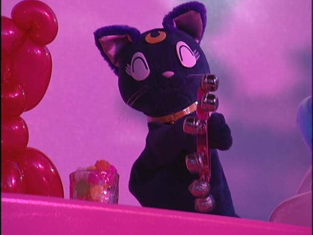 Live Action Pretty Guardian Sailor Moon Act 14 - Luna enjoys the Karaoke
