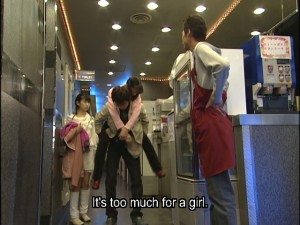 Live Action Pretty Guardian Sailor Moon Act 14 - Motoki thinks carrying Usagi is too much for a girl