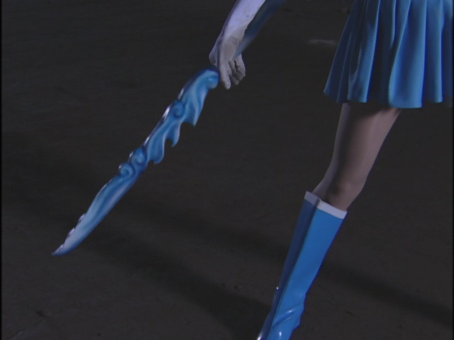 Live Action Pretty Guardian Sailor Moon Act 14 - Sailor Mercury's sword