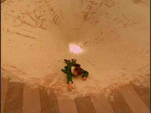 Live Action Pretty Guardian Sailor Moon Act 15 - Makoto falling into the Sarlacc Pit