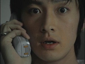 Live Action Pretty Guardian Sailor Moon Act 15 - Mamoru receives a phone call