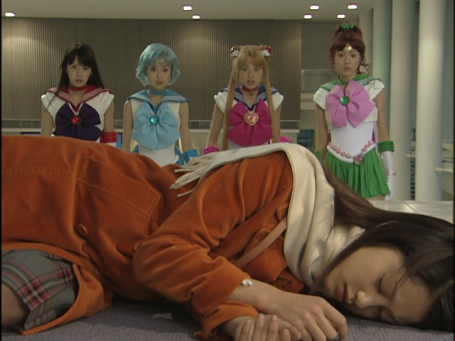Live Action Pretty Guardian Sailor Moon Act 16 - Naru is passed out ... again