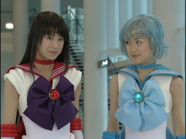 Live Action Pretty Guardian Sailor Moon Act 16 - Sailor Mars and Mercury
