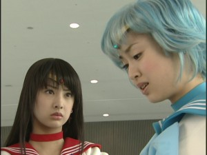 Live Action Pretty Guardian Sailor Moon Act 16 - Sailor Mars and Sailor Mercury
